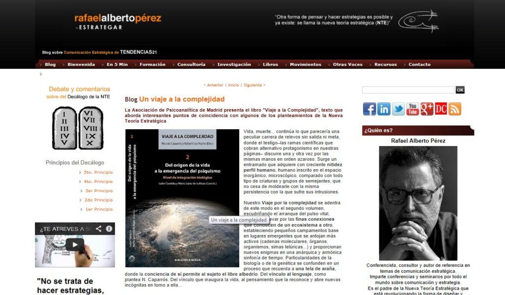 tendencias21 - Rafael Alberto Pérez
