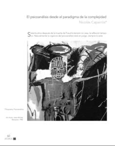 """Atopos nº 9: 70 años sin Freud. """"El psicoanálisis desde el paradigma de la complejidad"""" Nicolás Caparrós"""